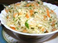 Salad of cabbage