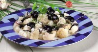 Cauliflower salad with anchovies
