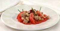 Bean salad with tuna