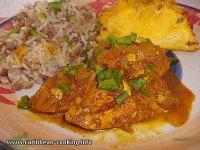 Chicken salad Caribbean