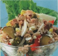Salad of cod liver oil (II)