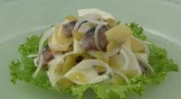 The potato salad with herring (3)