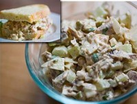 Salad spicy Turkey and celery