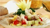 "picture - Fish salad ""Holiday"""