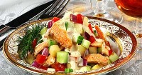 Salad with trout (2)
