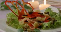 Salad with smoked fish (2)