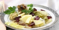Salad with herring (4)