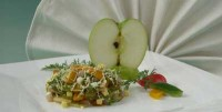 Salad with herring and vegetables (2)