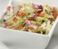Salad-procurement with cabbage, carrot, radish and onion