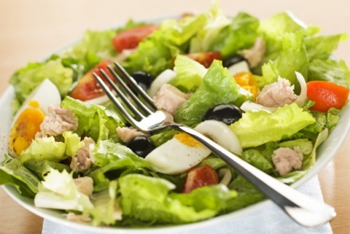 picture - Salads with canned tuna: 8 recipes