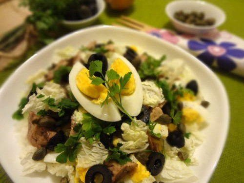 picture - Salad with cod liver: 7 everyday recipes