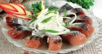Herring in sour cream