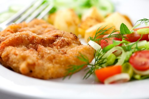 Schnitzel: not only from meat