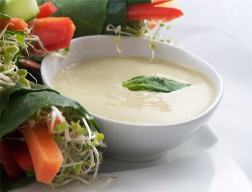 Creamy French dressing for salads