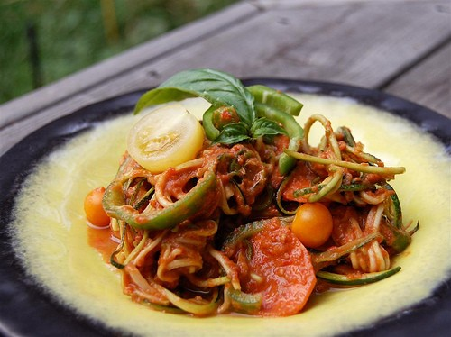Spaghetti with vegetables: 5 recipes