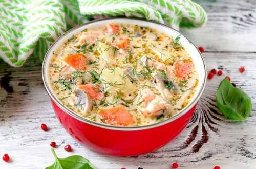 picture - Soups with trout: 4 prescription