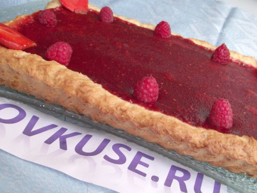 Tart with berries recipe with photo