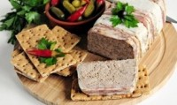 Terrine with chicken liver