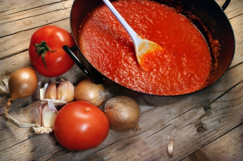 Tomato-onion sauce-procurement