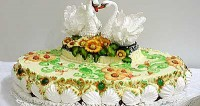 "picture - Cake ""Swan fidelity"""