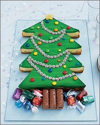 "picture - Cake ""Christmas tree"""