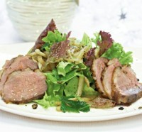 DUCK BREAST in the refined sauce