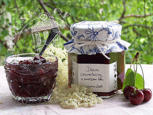 Cherry jam without seeds