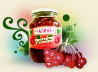 Jam with viburnum