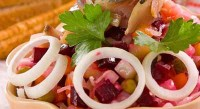 Vinaigrette with fresh herring