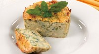 Casserole with blue cheese